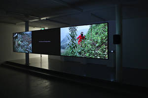 Patty Chang & David Kelley, Route 3, 2011, Installation View