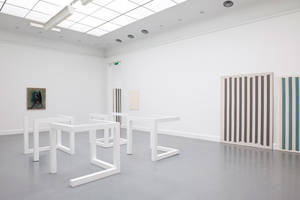 Installation view, Exhibition: Repetition: Summer Display 1983, Part of Play Van Abbe Part 1, Van Abbemuseum, Eindhoven. Photo: Peter Cox
