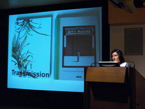 Rebecca Gordon-Nesbitt, Seminar Art and the Social: Exhibitions of Contemporary Art in the 1990s, 30 April 2010, Tate Britain, London, Photo: Raquel Villar-Pérez