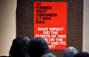 The 1st FORMER WEST Research Congress – Photo: Guus Schoth